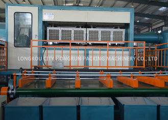 380V  Pulp Apple Tray Machine , Paper Recycle Egg Carton Making Machine