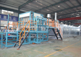 Waste Paper Moulding Pulp Egg Tray Making Machine / Fruit Tray Machine