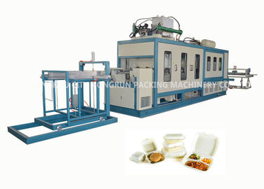 High Speed PS Foam Fast Food Box Machine / Automatic Thermoforming Machine