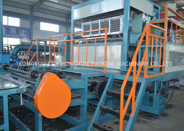 Rotary Pulp Molding Machine , Recycled Paper Egg Carton Machine